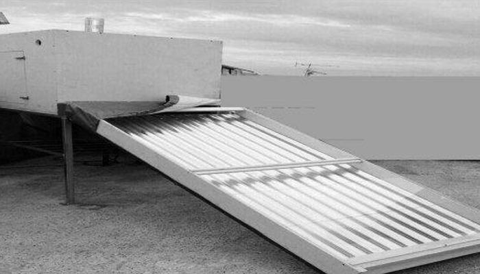 طراحی و ساخت دستگاه چوب خشک کن خورشیدی در مؤسسه آموزش عالي پیروزان