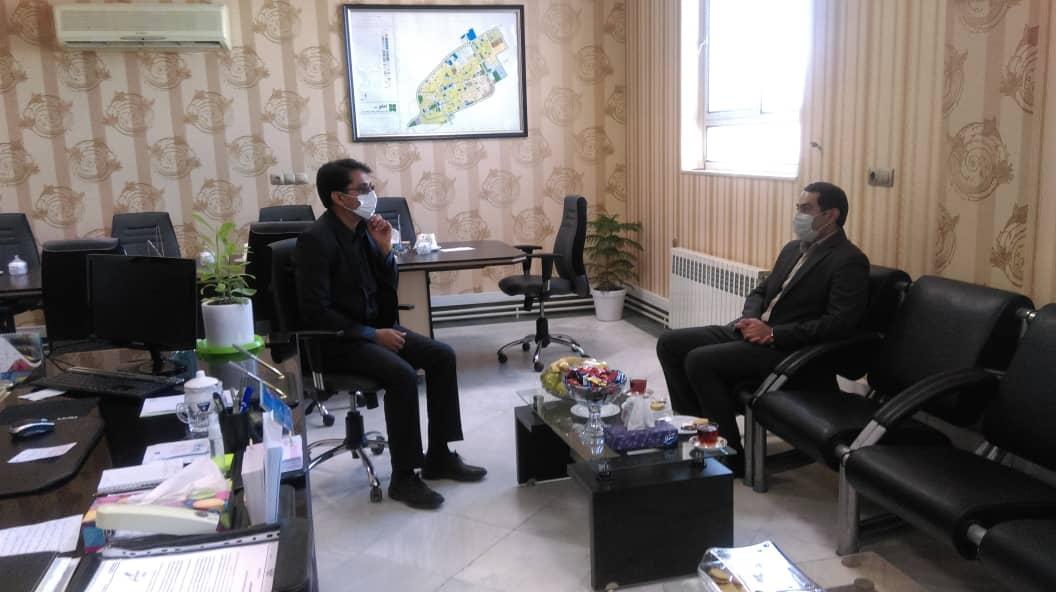 دیدار و تبریک ریاست هیئت امنای موسسه آموزش عالی پیروزان به شهردار جدید شهر فردوس